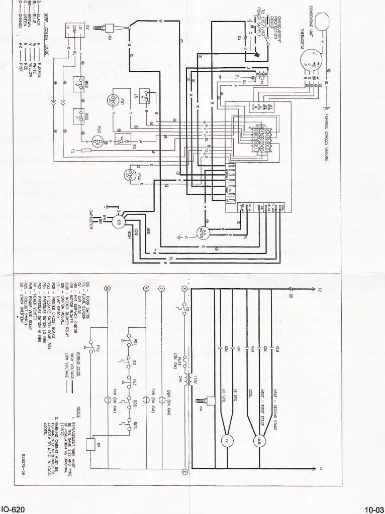 Trane Hvac System Wiring Diagram
