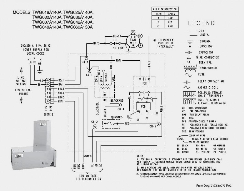 Trane Thermostat Wiring Diagram