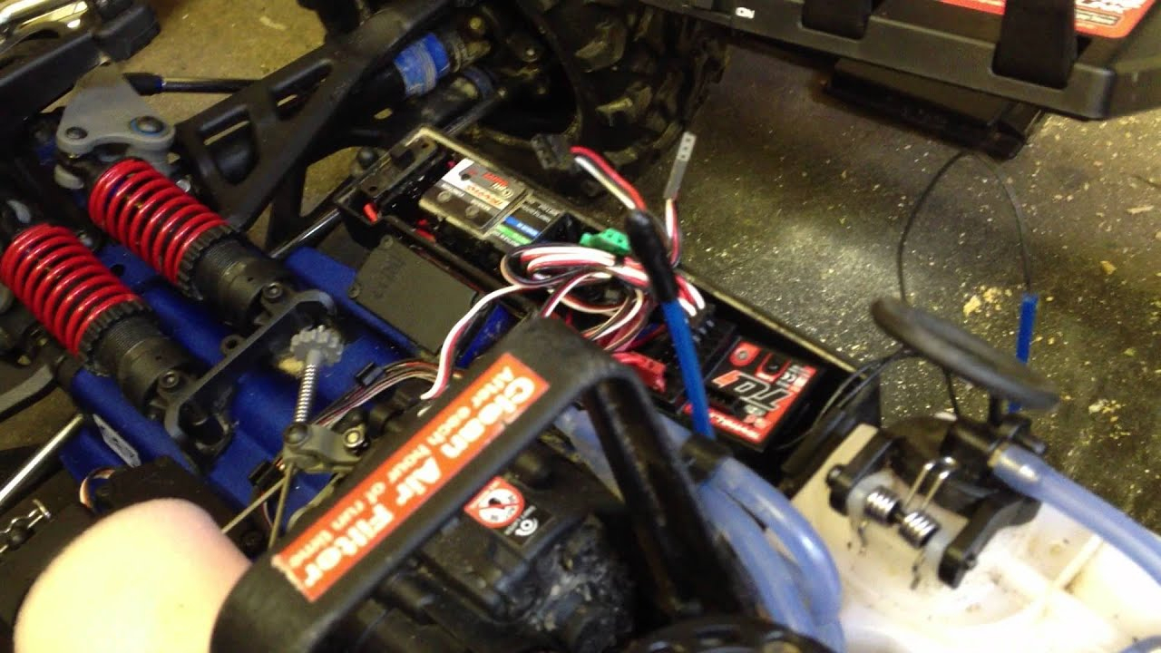 Traxxas Revo 3.3 And Tqi Binding Problems - Youtube - Traxxas Tqi Receiver Wiring Diagram