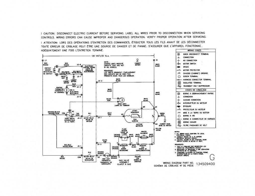 Kenmore Dryer Wiring Diagram 41797912701