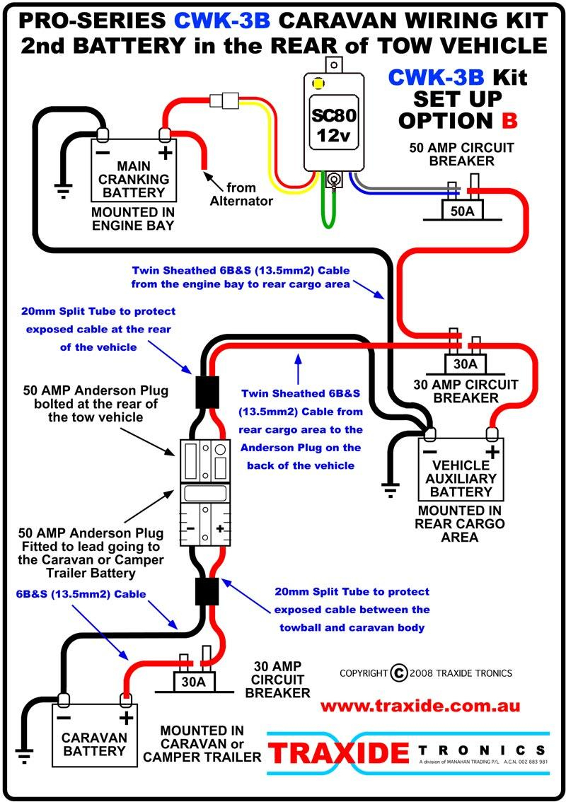 Triple Battery Wiring Suggestions - Trailer Battery Wiring Diagram