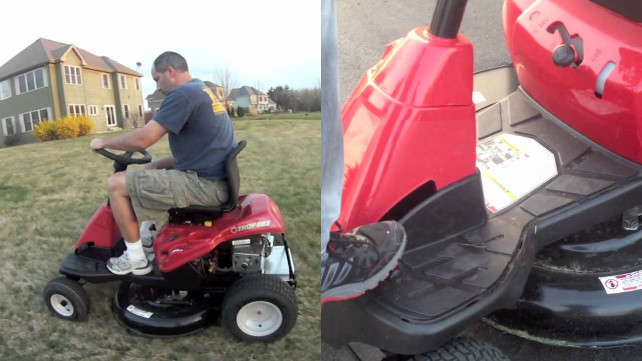 "Troy-Bilt Neighborhood Rider 30"" Riding Lawn Mower - Youtube - Wiring Diagram For Craftsman Riding Lawn Mower"