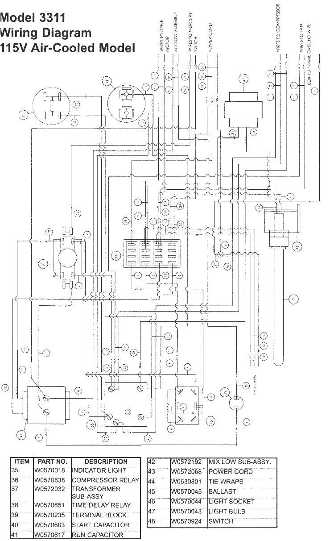 True Freezer Schematics | Wiring Diagram - True Freezer T 49F Wiring Diagram
