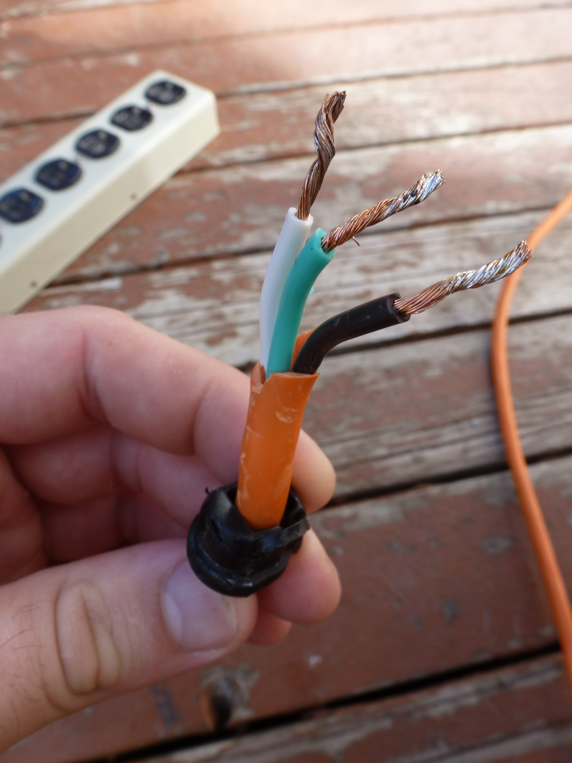 Turtles And Tails: Diy A Built-In Extension Outlet - Extension Cord Wiring Diagram