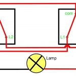 Two Way Light Switching Explained   Youtube   Dual Light Switch Wiring Diagram