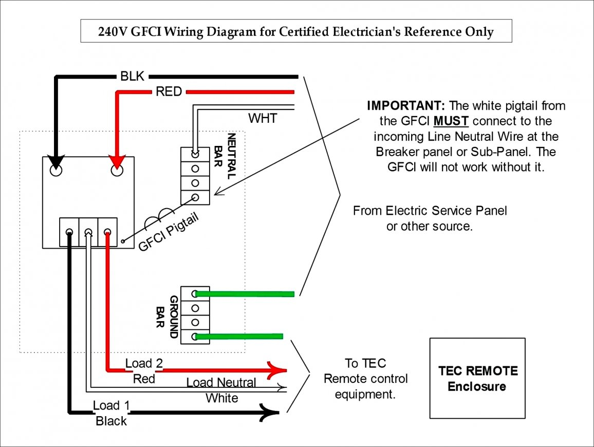 Unique Gfci Breaker Wiring Diagram Wire For Library Simple New - Gfci Breaker Wiring Diagram