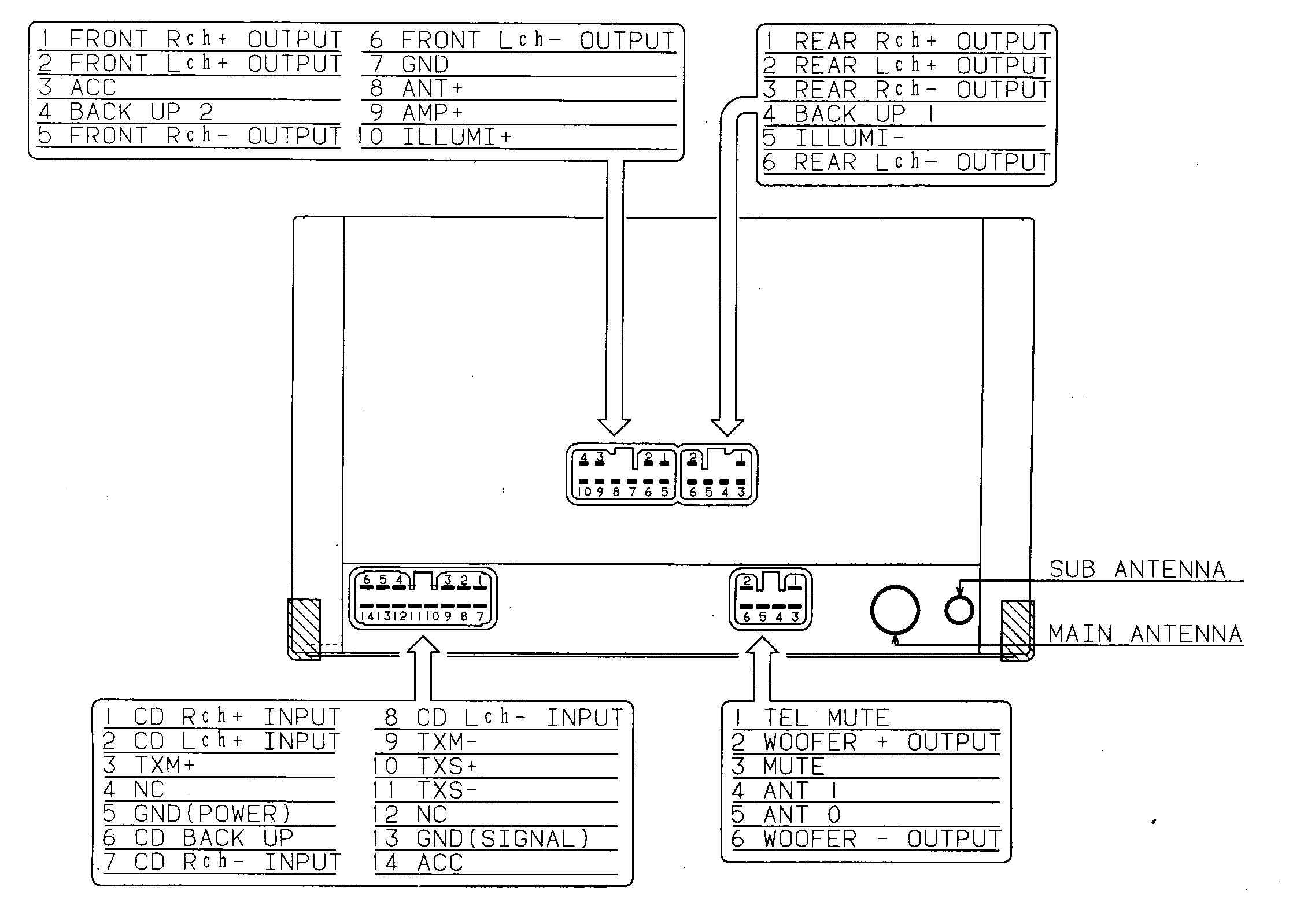 Alpine Car Stereo Wiring Diagram from annawiringdiagram.com
