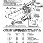 Vintage 6 Volt Positive Ground Wiring Diagram Ford | Wiring Library   8N Ford Tractor Wiring Diagram 12 Volt