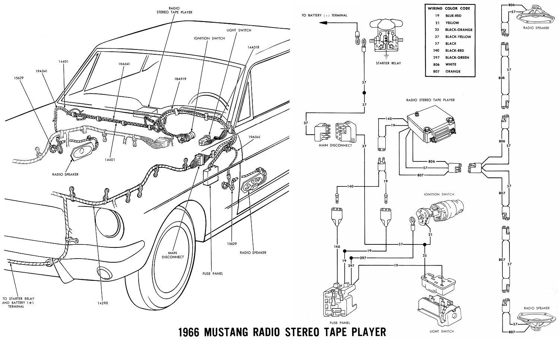 Vintage Mustang Wiring Diagrams - 1965 Mustang Wiring Diagram