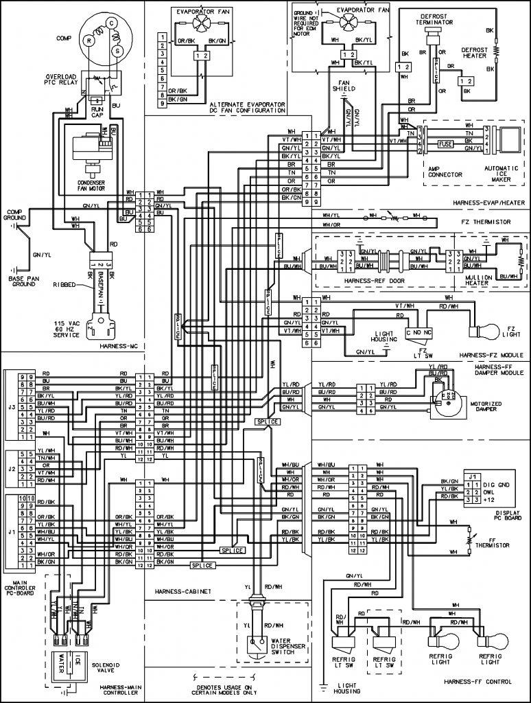 Walking Freezer Wire Diagram