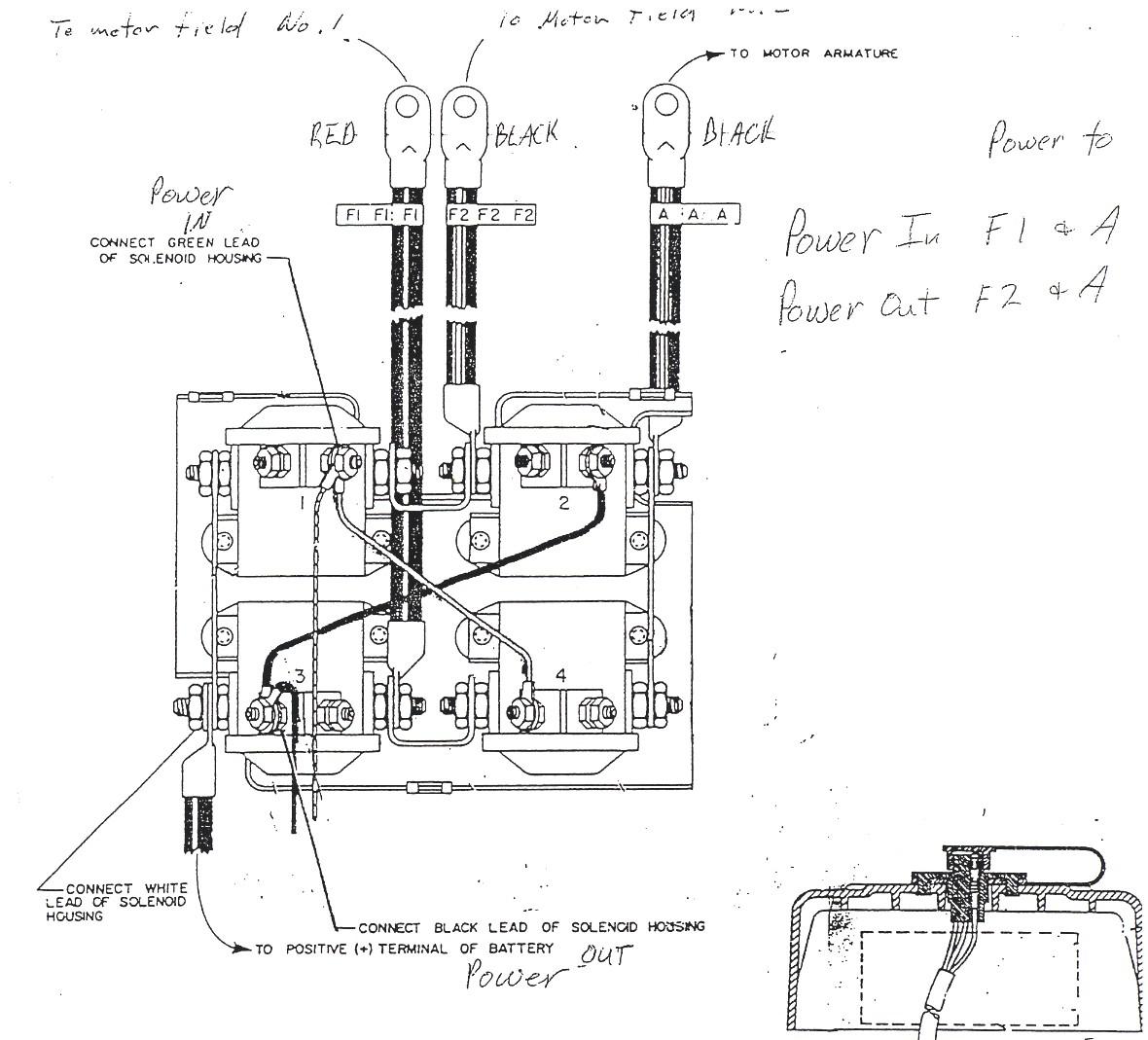 Warn Winch Solenoid Wiring - Wiring Diagrams Hubs - Western Unimount Wiring Diagram