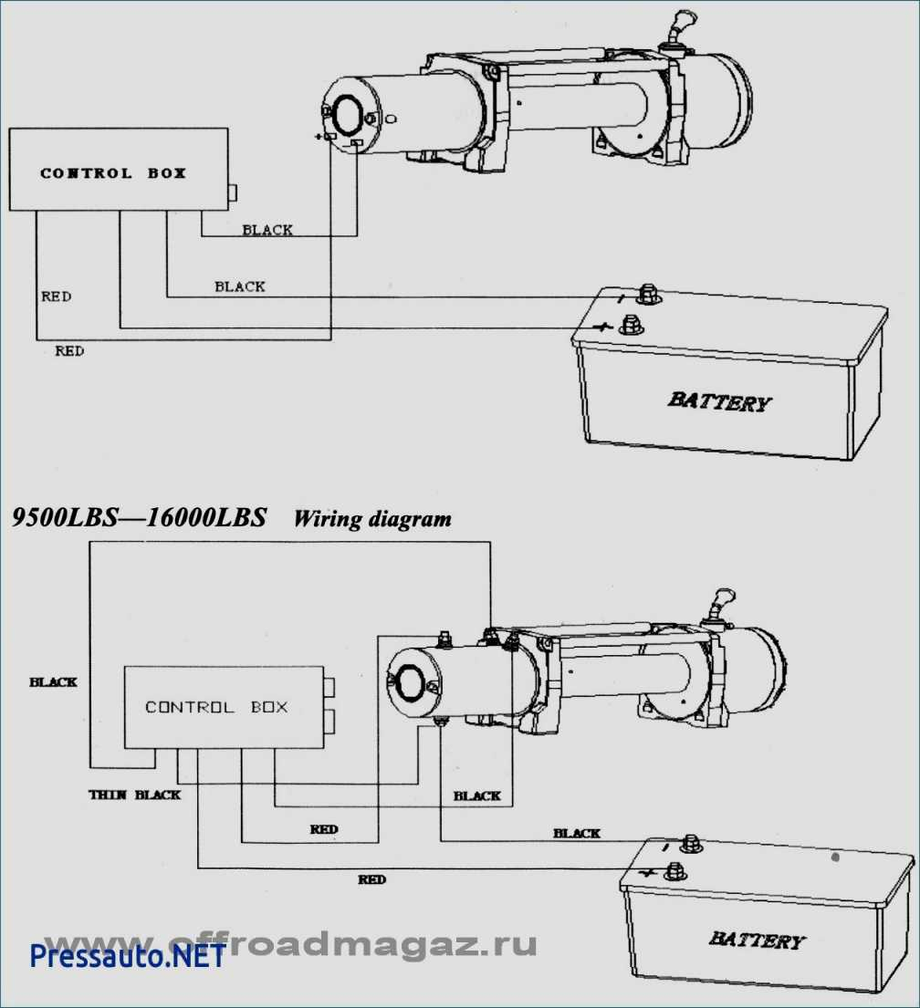 Warn Winch Wiring Diagram 75000 | Manual E-Books - Warn Winch Wiring Diagram