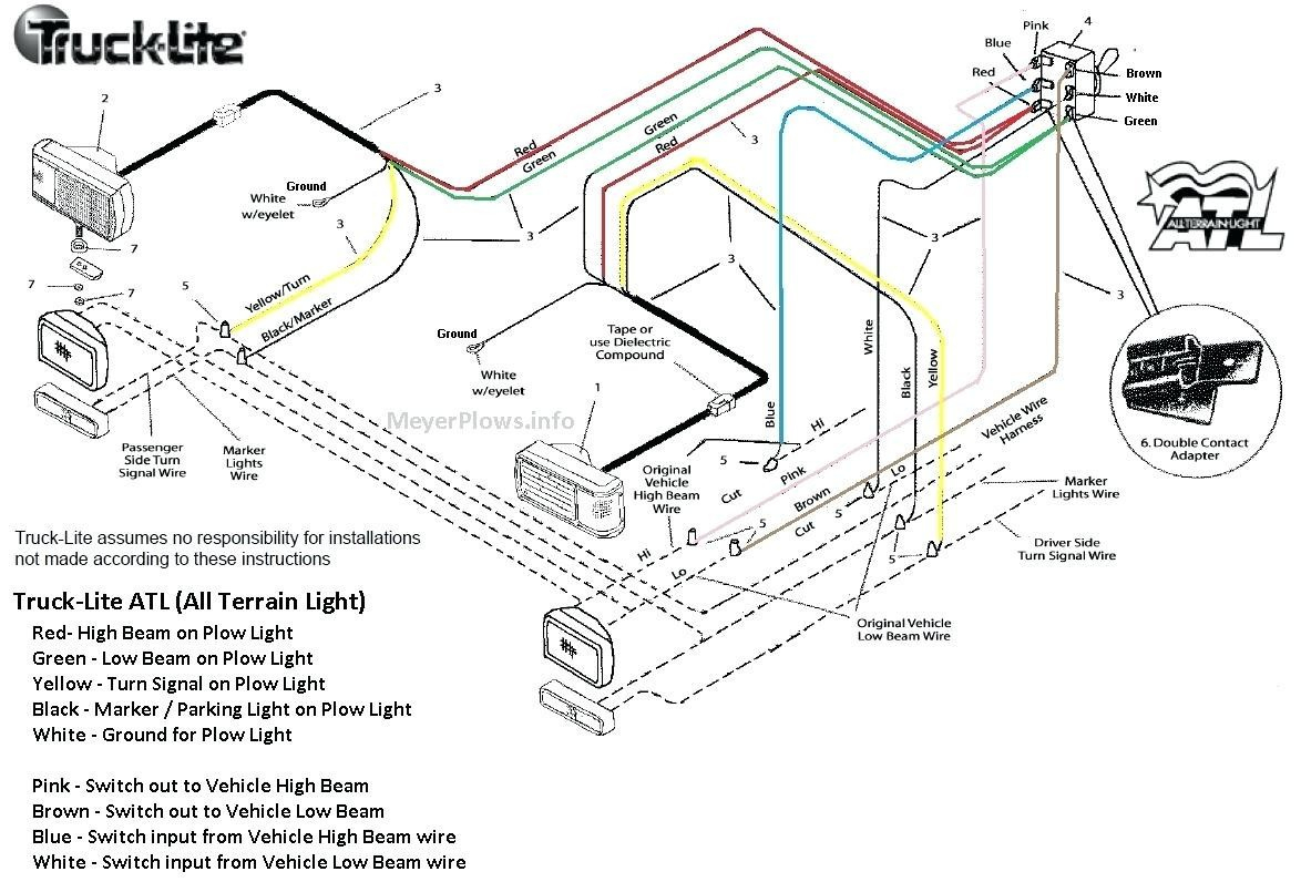 Western 4 Port Wiring Diagram | Manual E-Books - Fisher 4 Port Isolation Module Wiring Diagram