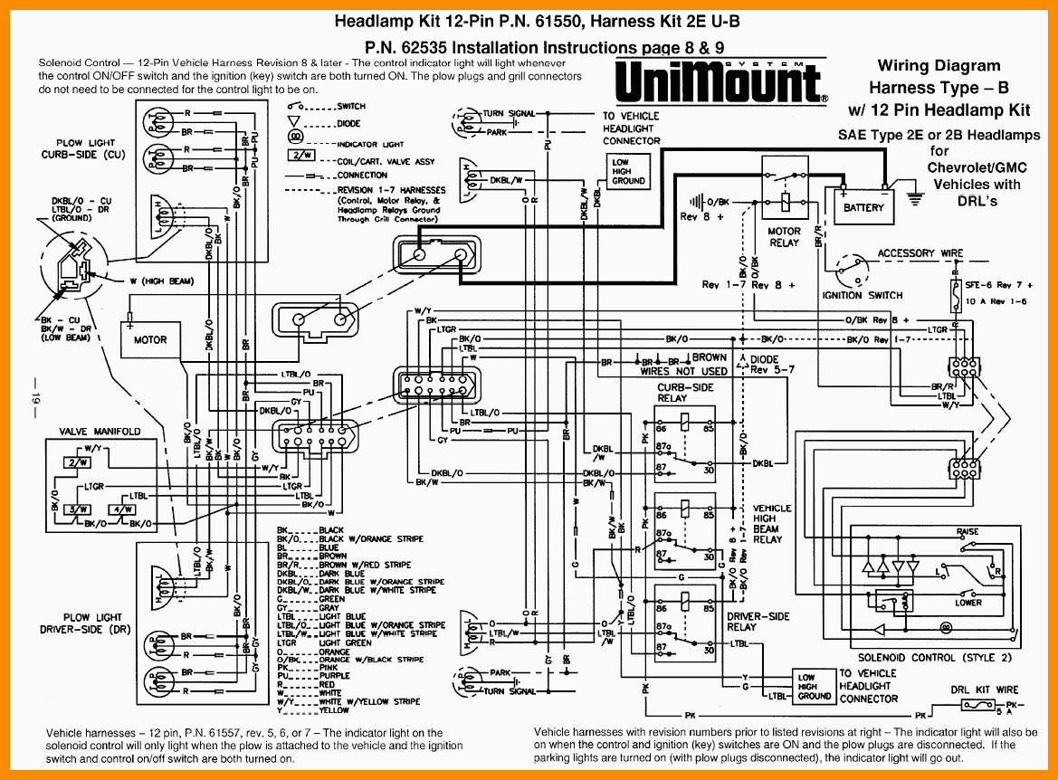 Western Suburbanite Plow Wiring Diagram | Manual E-Books - Western Snowplow Wiring Diagram