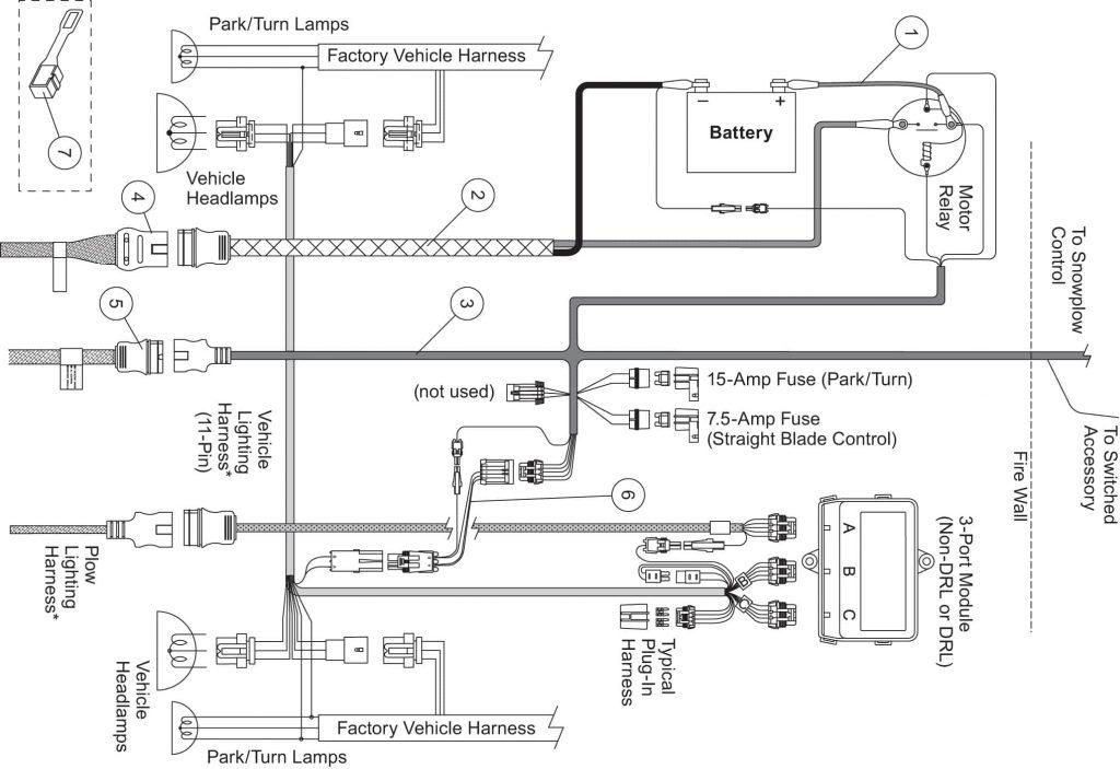 Western Unimount Wiring Harness