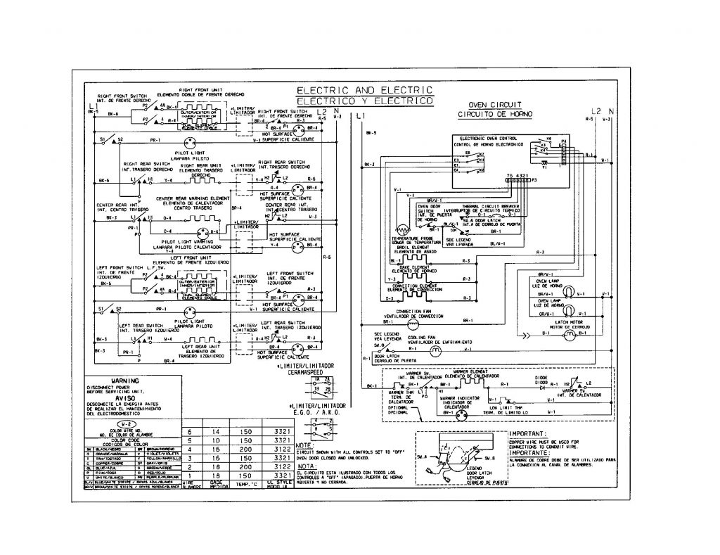 Electric Oven Electric Stove Wiring Diagram from annawiringdiagram.com