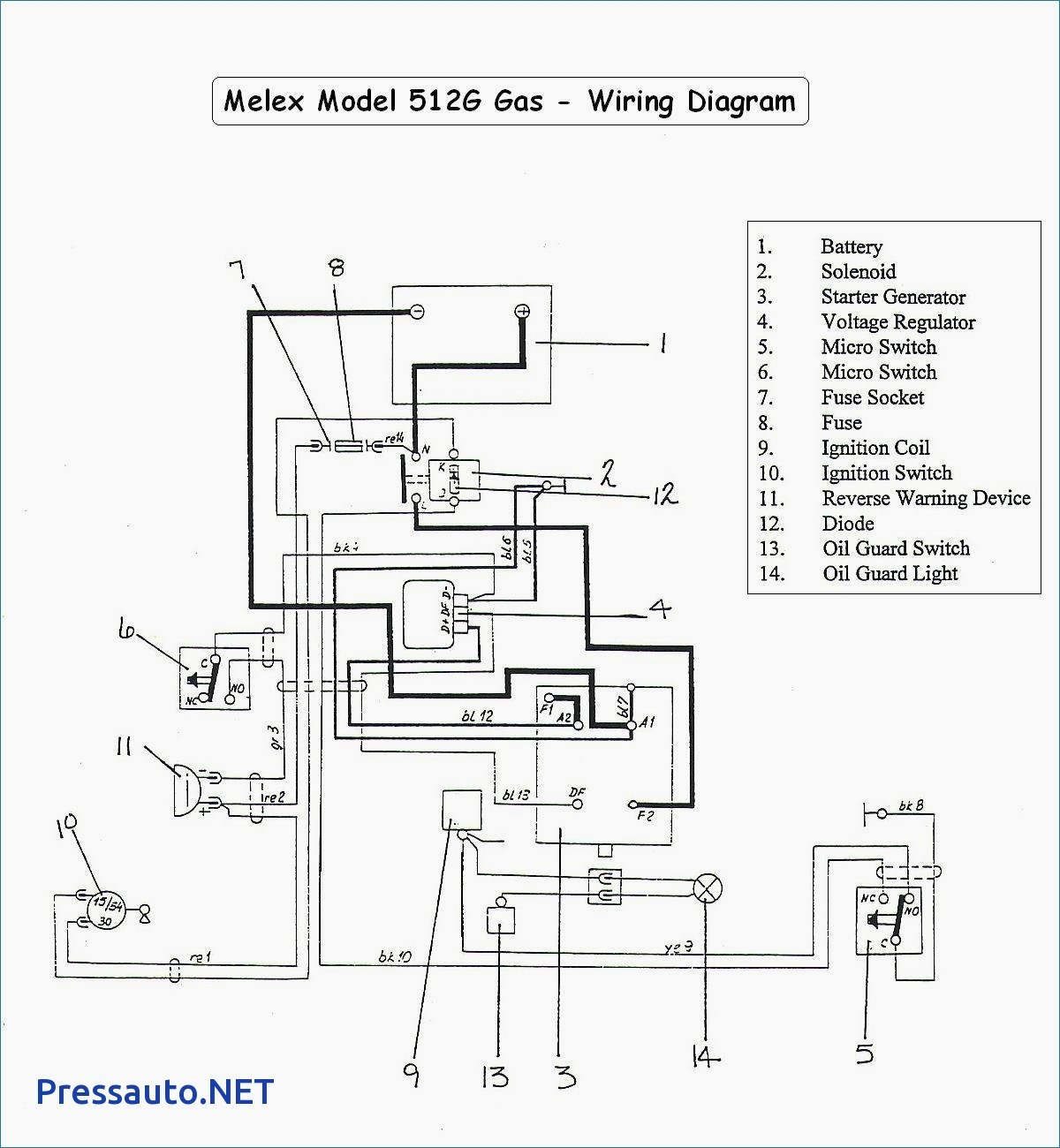 White Rodgers Solenoid Wiring Diagram | Wiring Diagram - Golf Cart Solenoid Wiring Diagram