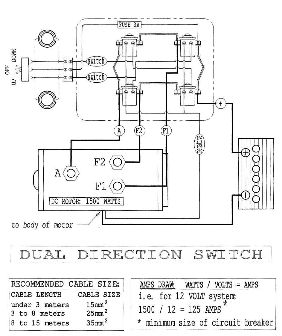Winch Motor Wiring 3 Post Schema Wiring Diagram - Winch Wiring Diagram