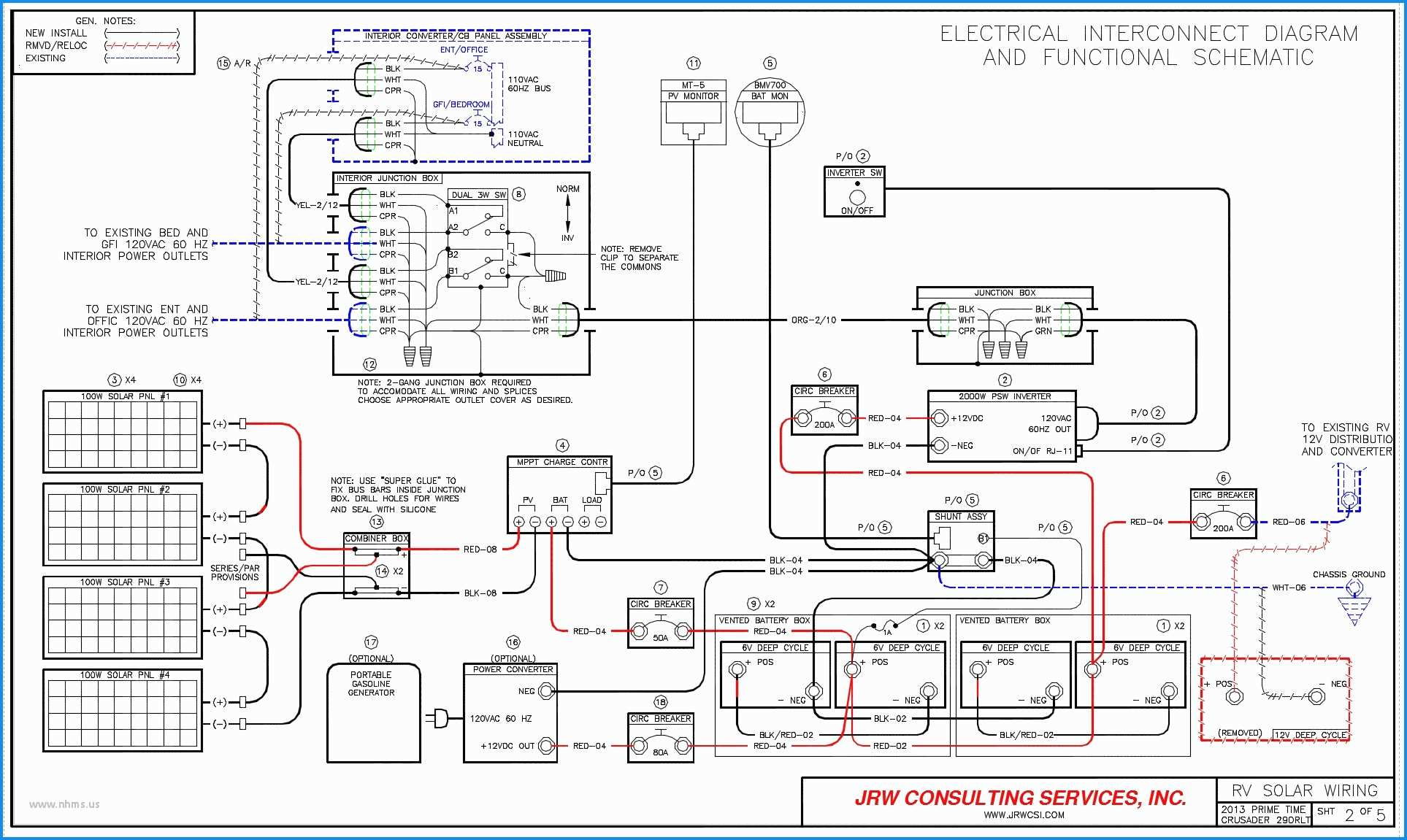 Winnebago Ac Wiring Diagram | Manual E-Books - Winnebago Wiring Diagram