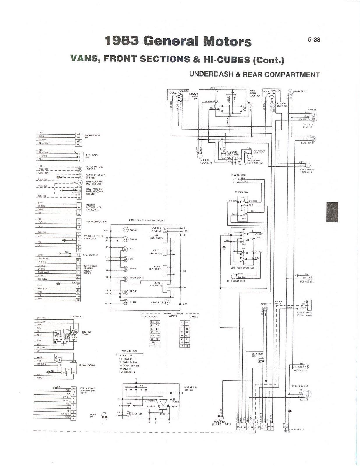 Winnebago Trailer Wiring - Wiring Diagrams Hubs - Winnebago Motorhome Wiring Diagram