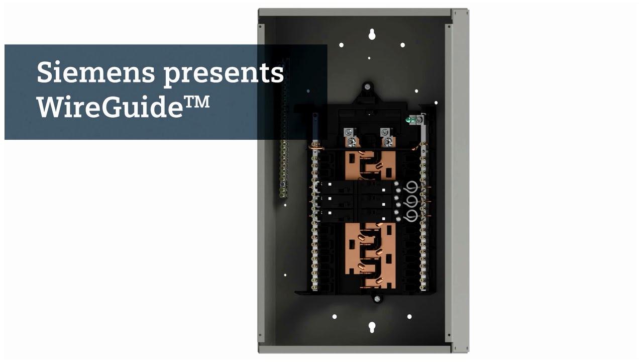 Wireguide Load Center Teaser - Youtube - Siemens Load Center Wiring Diagram