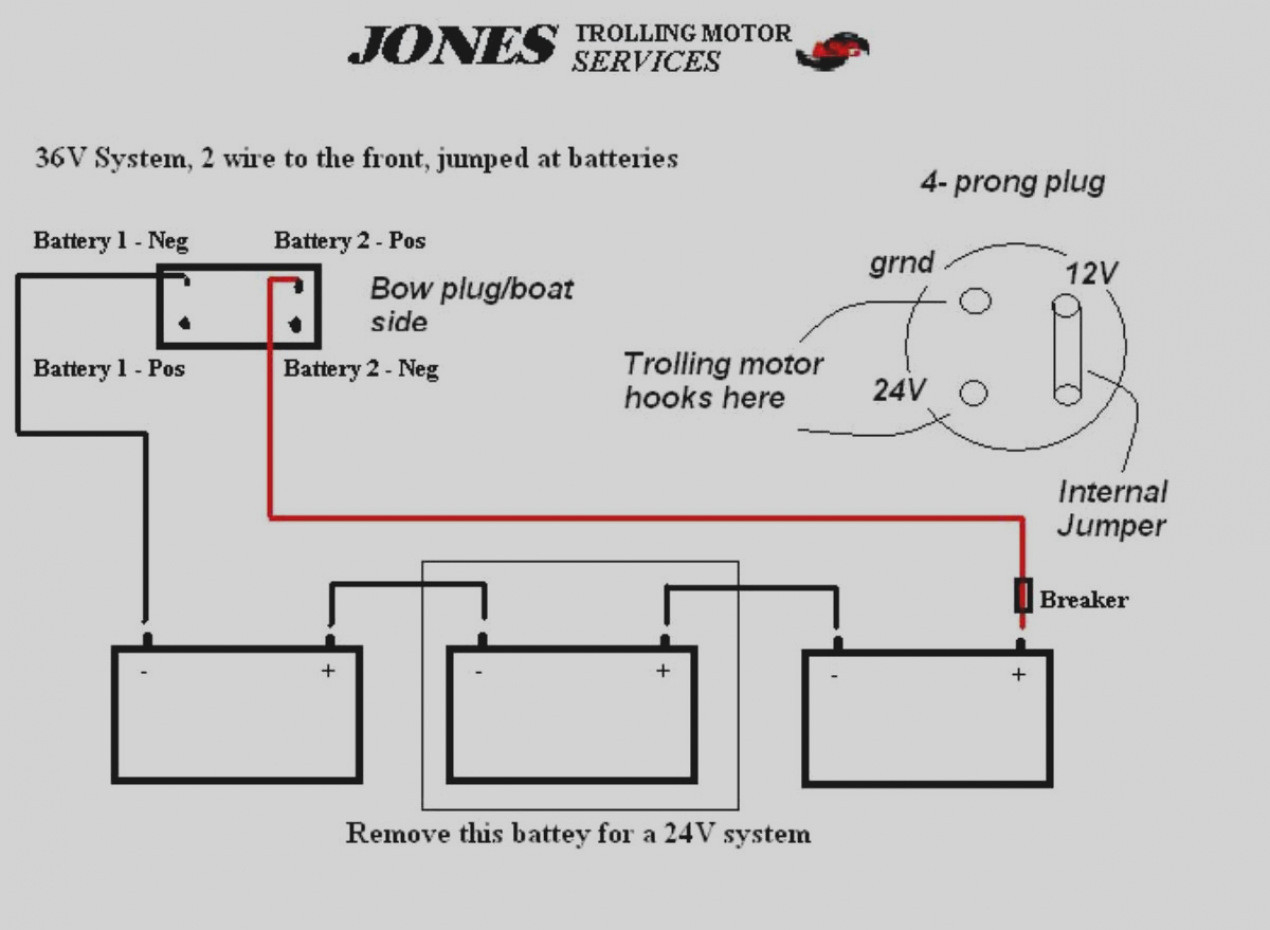24 36 Volt Trolling Motor Wiring Diagram Manual Guide