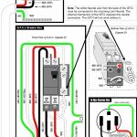 Wiring 240V Gfci Breaker   Creative Wiring Diagram Templates •   2 Pole Gfci Breaker Wiring Diagram