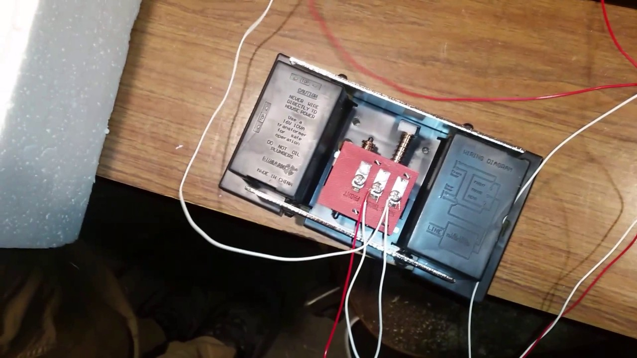 Wiring A Doorbell (Easy) - Youtube - Doorbell Transformer Wiring Diagram
