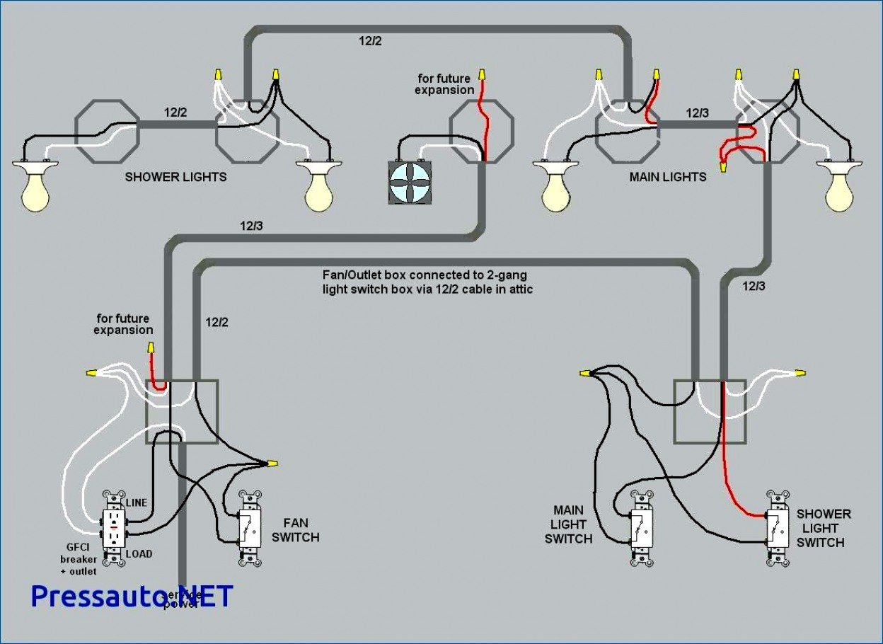 Wiring A Light Switch And Gfci Schematic Free Download | Wiring Diagram - Gfci Outlet With Switch Wiring Diagram