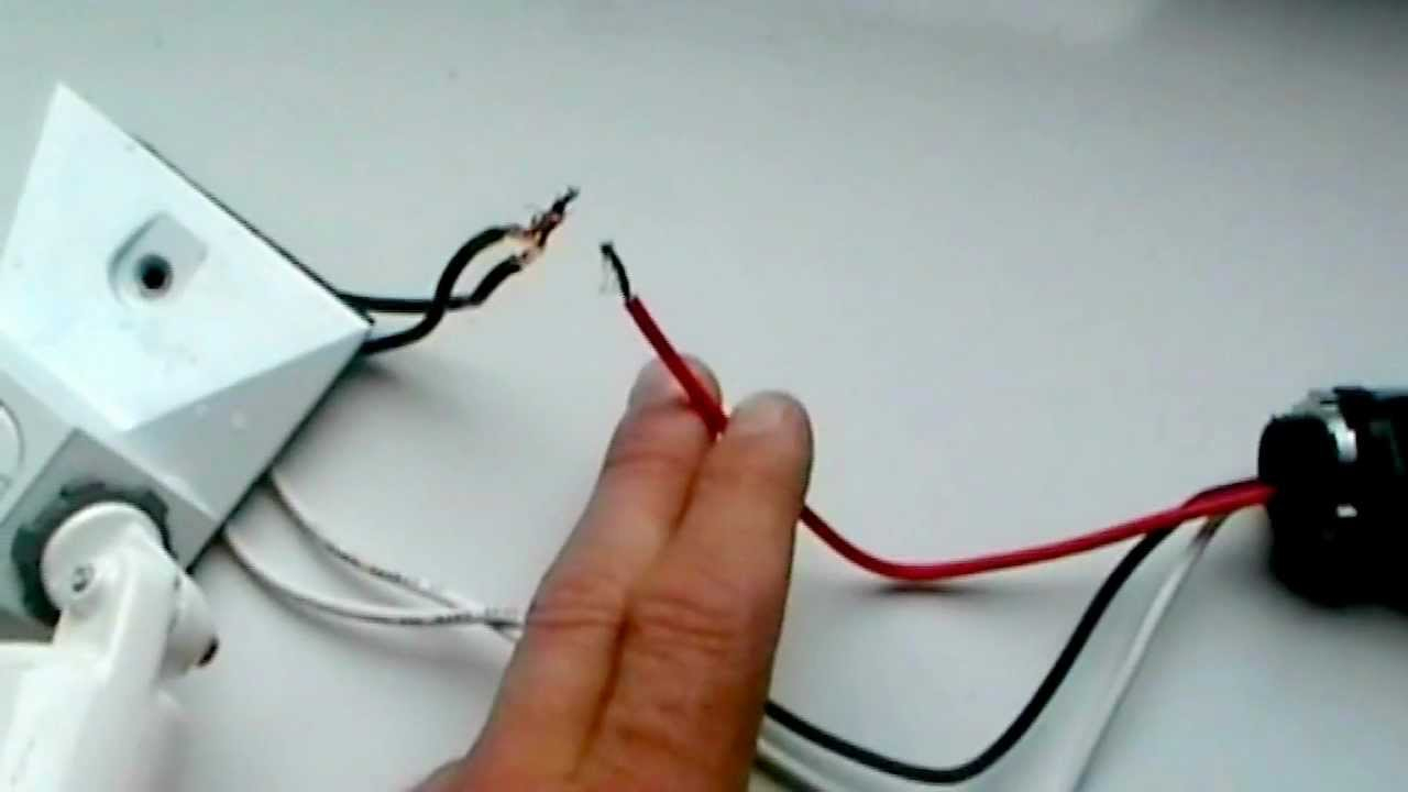 Wiring A Photo Cell. (Dusk To Dawn) - Youtube - Photocell Wiring Diagram Pdf