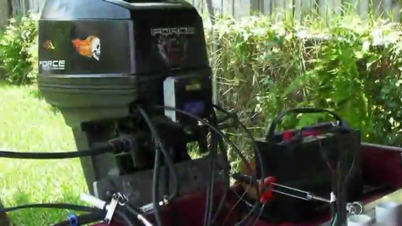 Wiring An Outboard Motor Tach And Voltmeter - Youtube - Evinrude Wiring Diagram Outboards