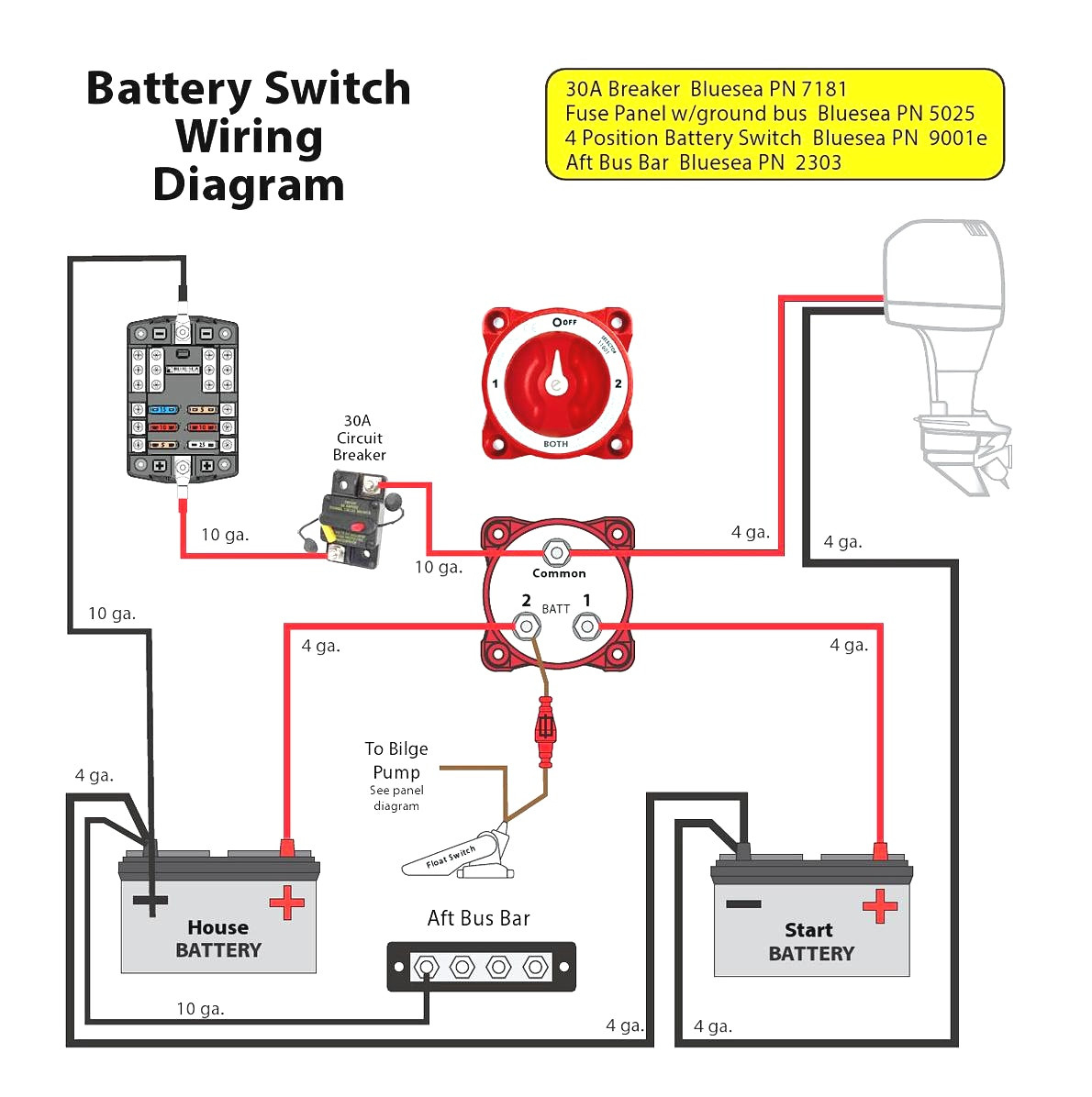 Wiring Boat Batteries Diagrams | Schematic Diagram - Boat Dual Battery Wiring Diagram
