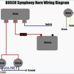 Wiring Boat Horn   Schema Wiring Diagram   Air Horns Wiring Diagram