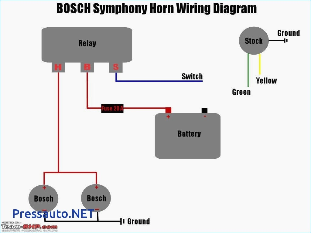Wiring Boat Horn - Schema Wiring Diagram - Air Horns Wiring Diagram