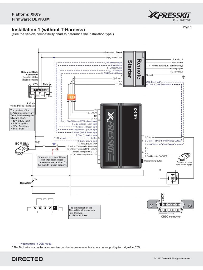 Wiring Bulldog Diagram Security 1640b Tr02