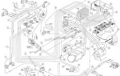 Wiring – Carryall Vi Powerdrive Electric Vehicle – Club Car Parts – Club Car Wiring Diagram Gas