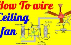 Wiring Diagram 3 Way Switch Ceiling Fan And Light | Schematic Diagram – Ceiling Fan 3 Way Switch Wiring Diagram
