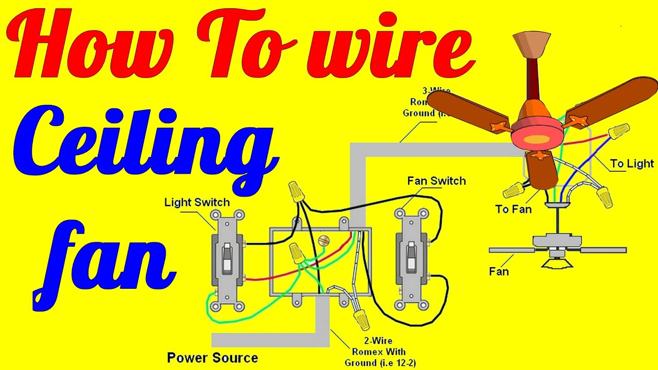 Wiring Diagram 3 Way Switch Ceiling Fan And Light   Schematic Diagram - Ceiling Fan 3 Way Switch Wiring Diagram