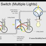 Wiring Diagram 3 Way Switch With 2 Lights For A Extraordinary 3Way   3 Way Light Switching Wiring Diagram