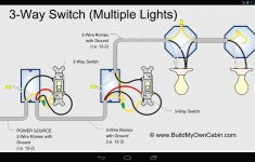 Three Way Light Switch Wiring Diagram