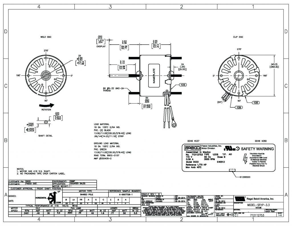Wiring Diagram Century Electric Company Motors | Manual E-Books - Century Electric Motor Wiring Diagram