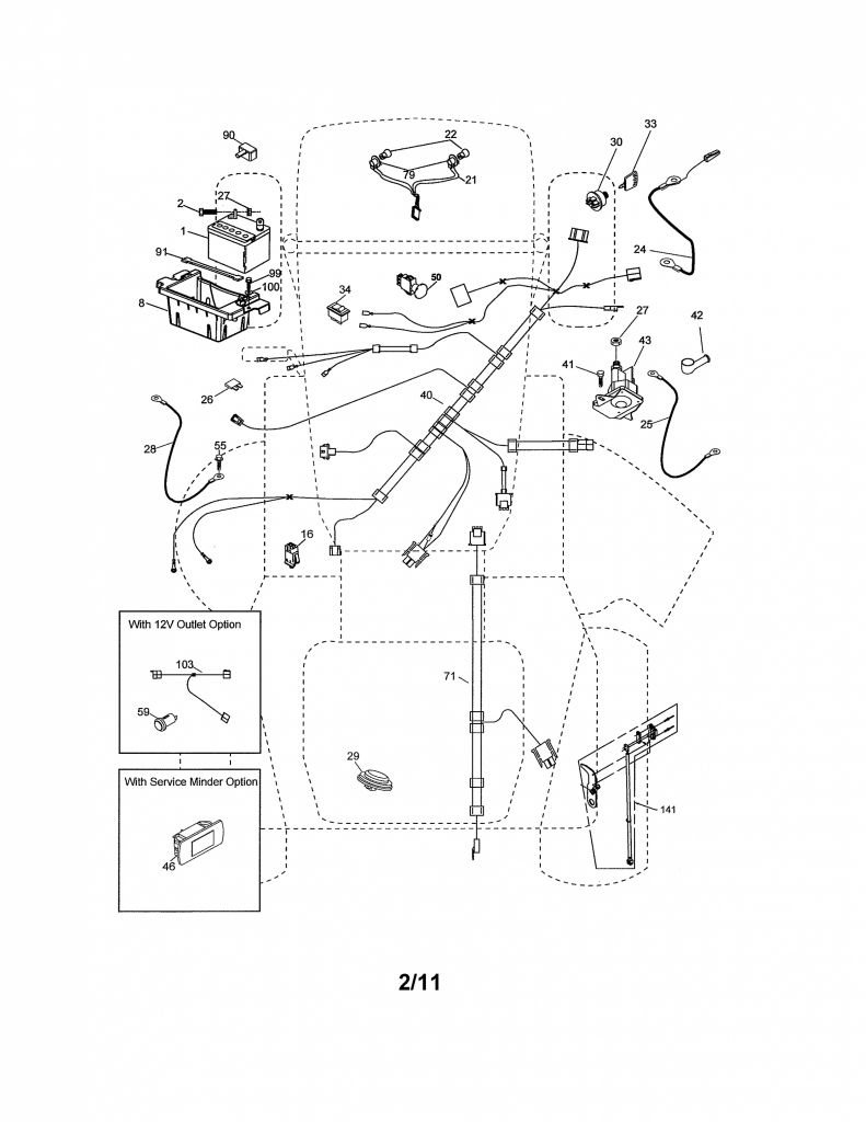 Craftsman Riding Mower Wiring Diagram from annawiringdiagram.com