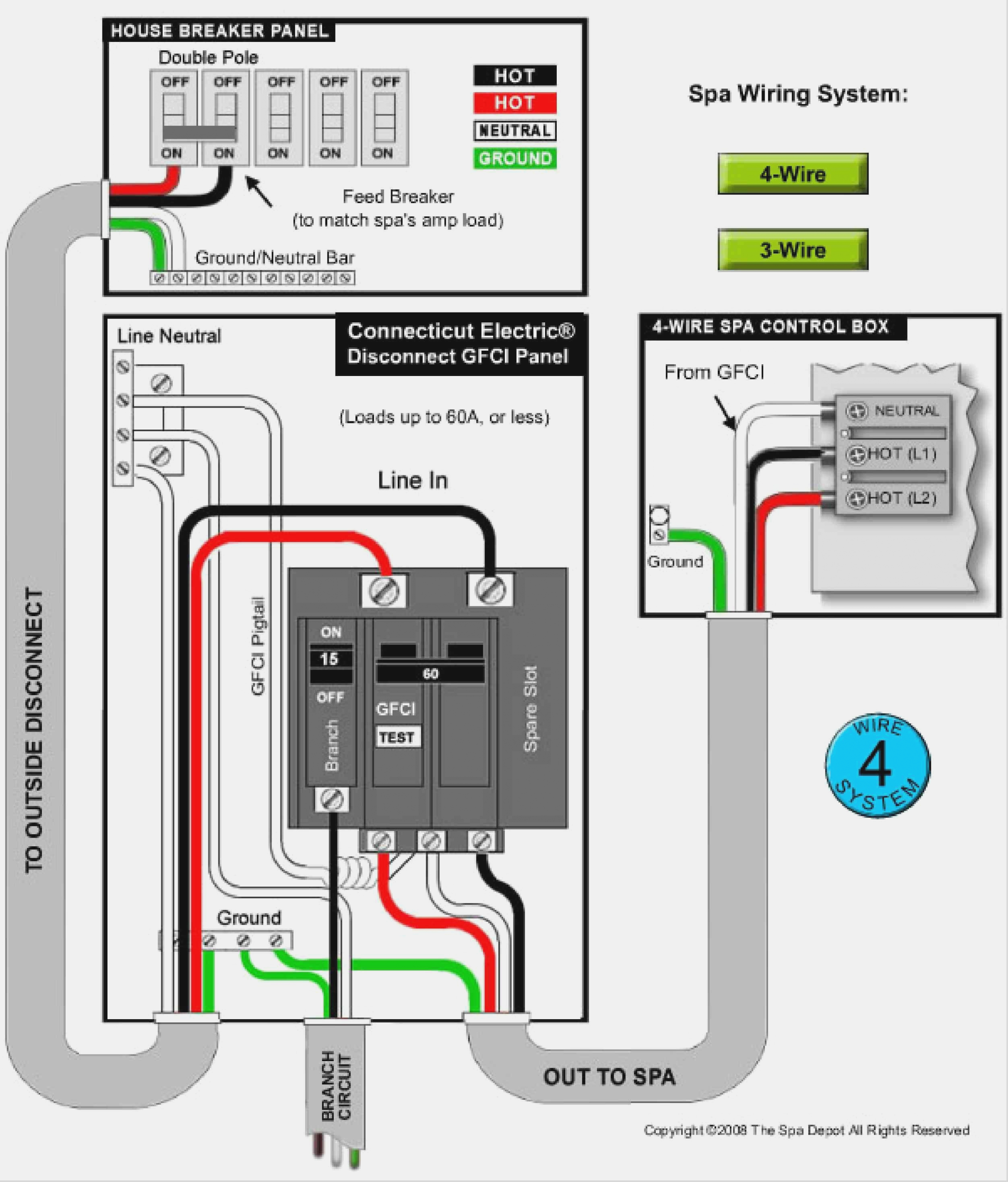 Wiring Diagram For A Gfci Breaker | Wiring Diagram - 2 Pole Gfci Breaker Wiring Diagram