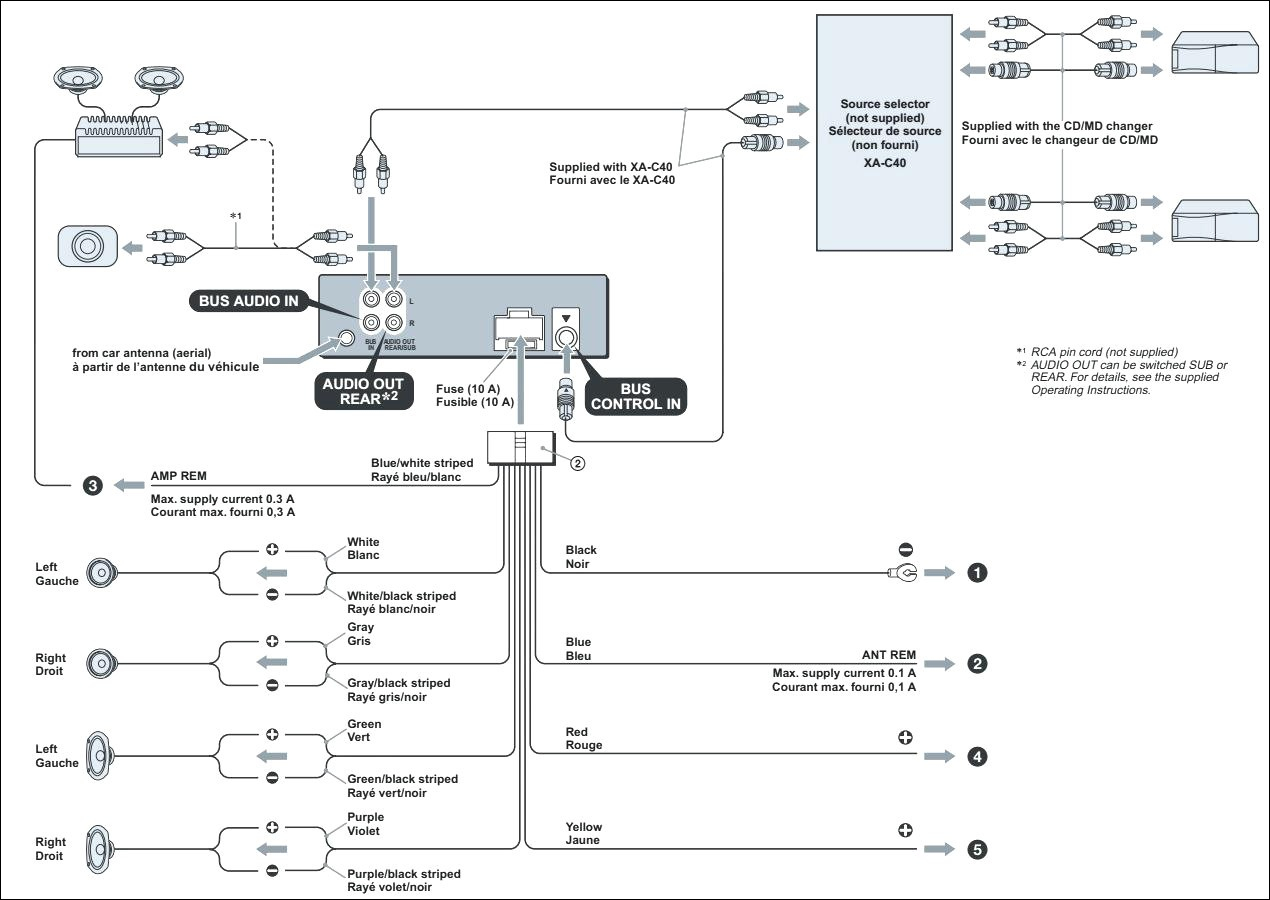 Sony Xplod 52wx4 Wiring Diagram Full
