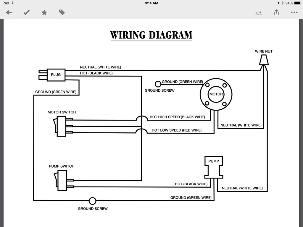 Wiring Diagram For A Swamp Cooler | Manual E-Books - Swamp Cooler Motor Wiring Diagram