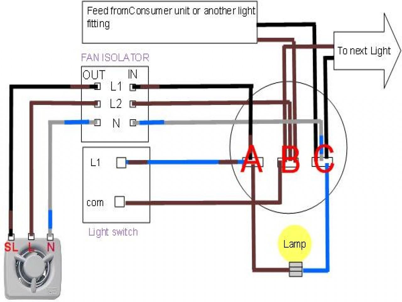 Wiring Diagram For Broan Exhaust Fan Light   Wiring Diagram - Wiring A Bathroom Fan And Light Diagram