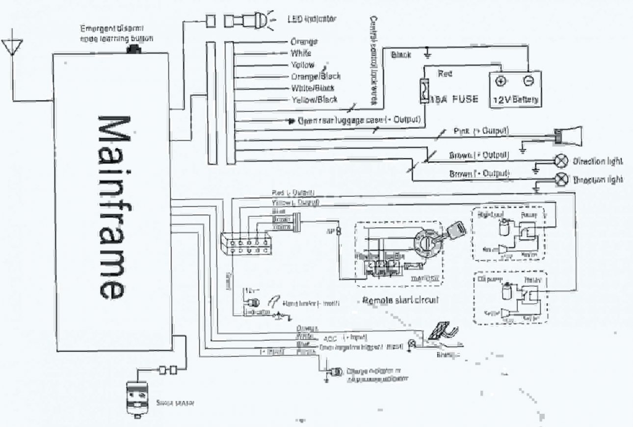 Wiring Diagram For Car Alarm System - All Wiring Diagram Data - Car Alarm Wiring Diagram