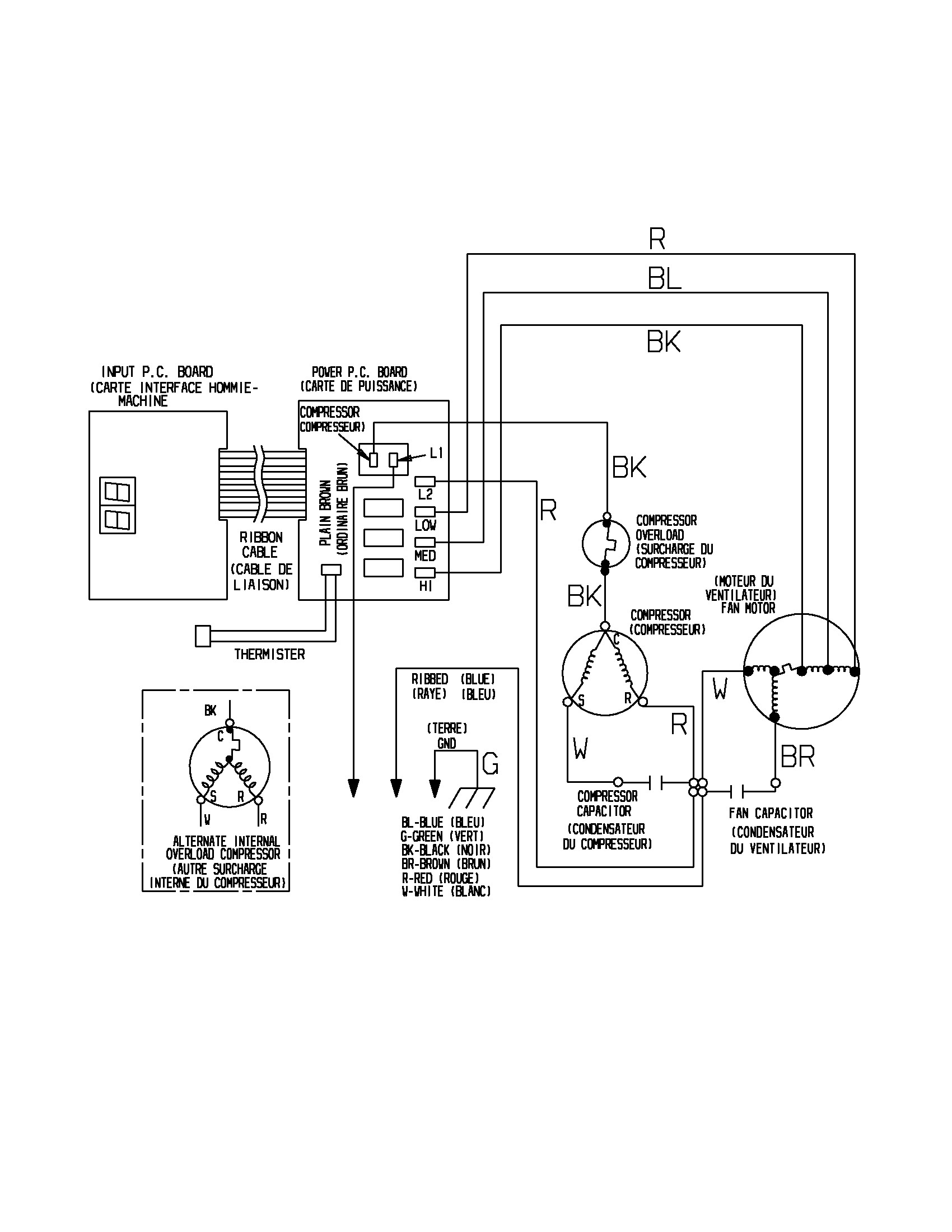 Wiring Diagram For Central Ac | Manual E-Books - Air Conditioner Wiring Diagram Capacitor