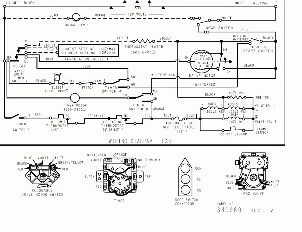 Wiring Diagram For Kenmore Gas Dryer | Wiring Diagram - Kenmore Dryer Wiring Diagram