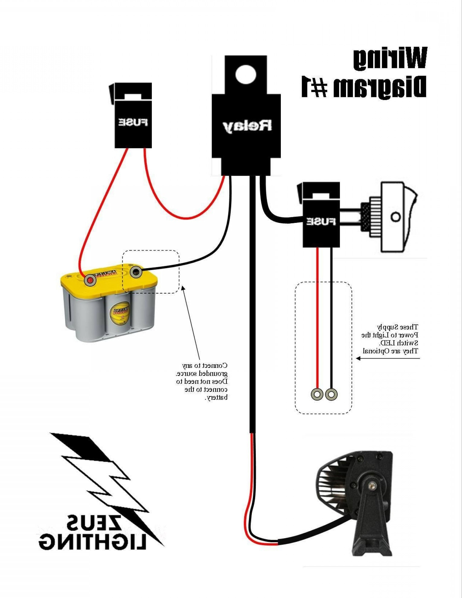 Wiring Diagram For Led Light Bar | Wiring Library - Autofeel Light Bar Wiring Diagram